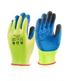 B Flex Latex Thermo-Star Palm Coated Glove