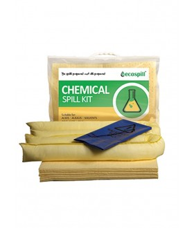 Ecospill 30L Chemical Spill Response Kit | Clip-top Carrier