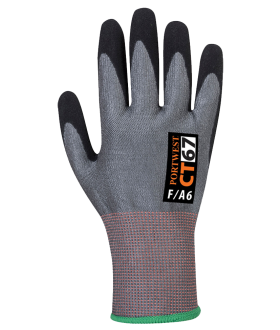 Portwest CT AHR Nitrile Foam Cut Level F Gloves