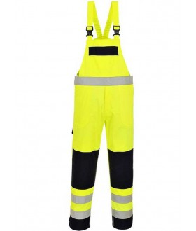 Portwest Bizflame Hi-Vis Multi-Norm Bib and Brace
