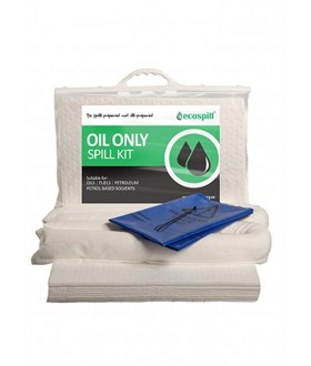 Ecospill 30L Oil Only Spill Response Kit | Clip-top Carrier