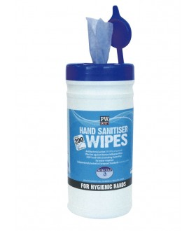 Portwest Hand Sanitiser Wipes x 200 per Tub