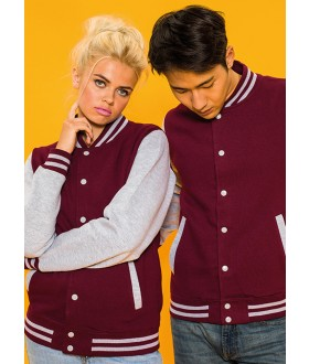Just Hoods By AWDis Varsity Jacket