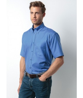 Kustom Kit Men's Workwear Short Sleeve Oxford Shirt