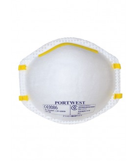 Portwest FFP1 Dust Mist Respirator (20 Per Box)