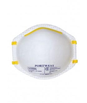 Portwest FFP1 Dust Mist Respirator (3 Per Pack)