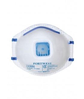 Portwest FFP2 Valved Dust Mist Respirator (10 Per Box)