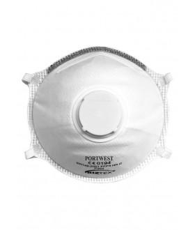 Portwest FFP3 Valved Dolomite Light Cup Respirator (10 Per Box)