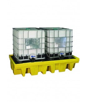 Ecospill PE Double IBC Spill Pallet