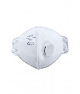 Portwest FFP3 Valved Dolomite Fold Flat Respirator (20 Per Box)
