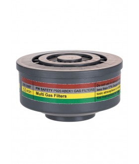 Portwest ABEK1 Gas Filter Special Thread Connection (4 Per Box)