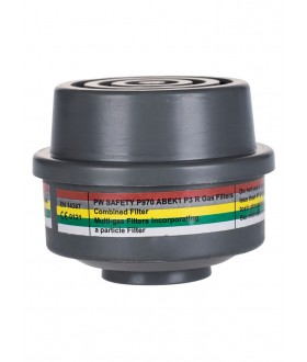 Portwest ABEK1P3 Combination Filter Special Thread Connection (4 Per Box)