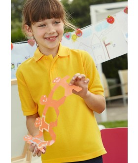 Fruit Of The Loom Children's 65/35 Polo