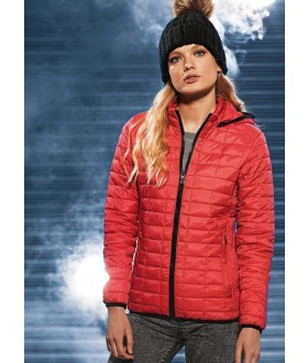 2786 Women's Honeycomb Hooded Jacket