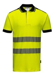 PW3 Polo Shirt Hi-Vis Yellow
