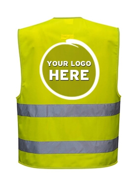 Customisable Hi-Vis Vests