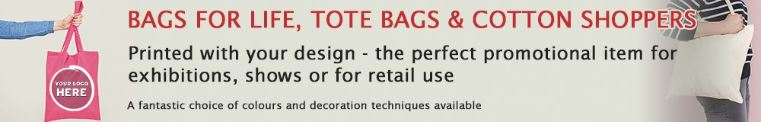 Printed Shopping Bags Bundle Promotional
