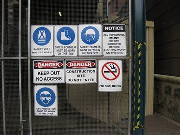 PPE Signs: Which Signs Go Where on Site?