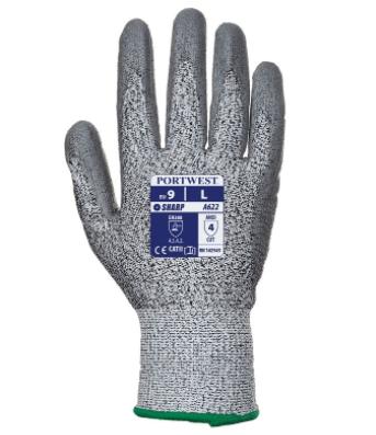 Portwest Unisex Anti Vibration Glove Black Various Size A790