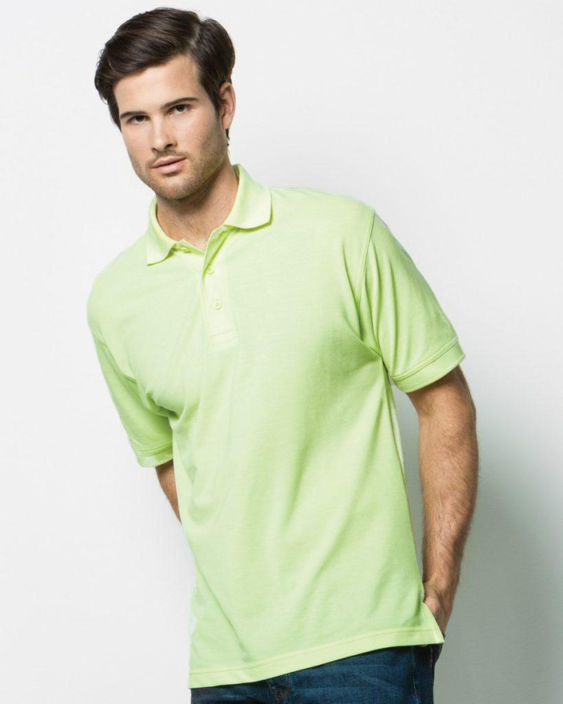 Image shows Kustom Kit Men's Klassic Superwash® Polo