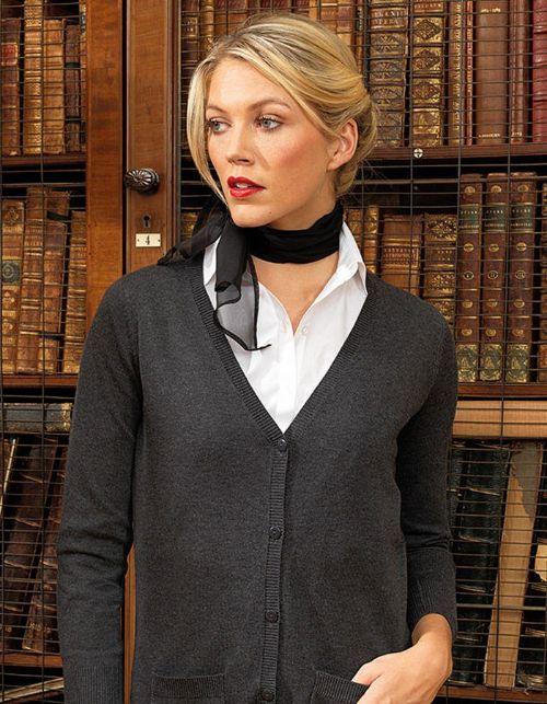 Premier Women's Longline Knitted Cardigan