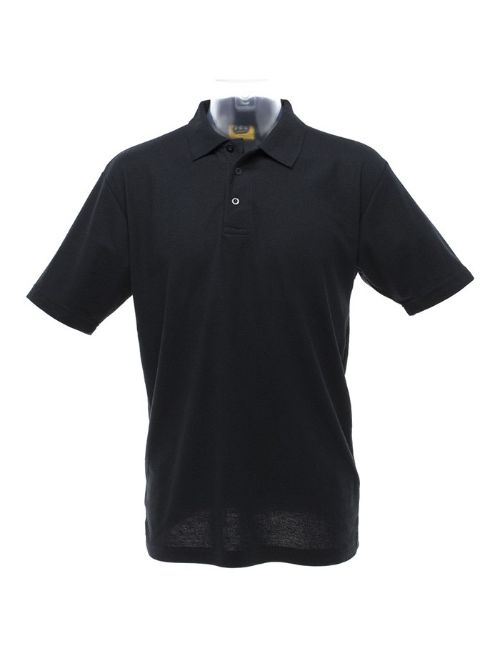 Image shows Pique Cotton Polo Shirt