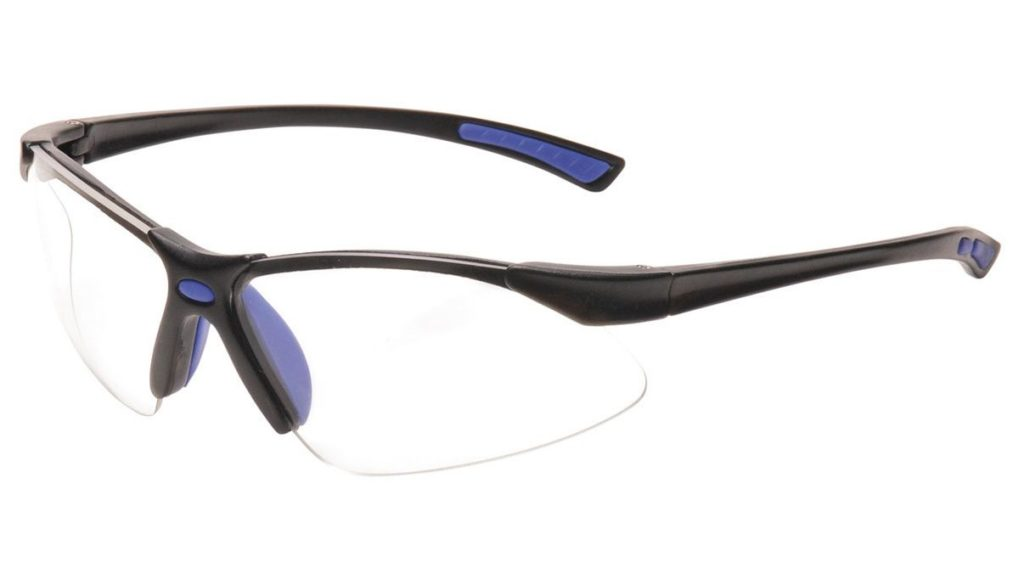 Image shows Portwest Slim Safety Goggles