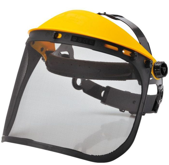 Image shows Portwest Browguard with Mesh Visor