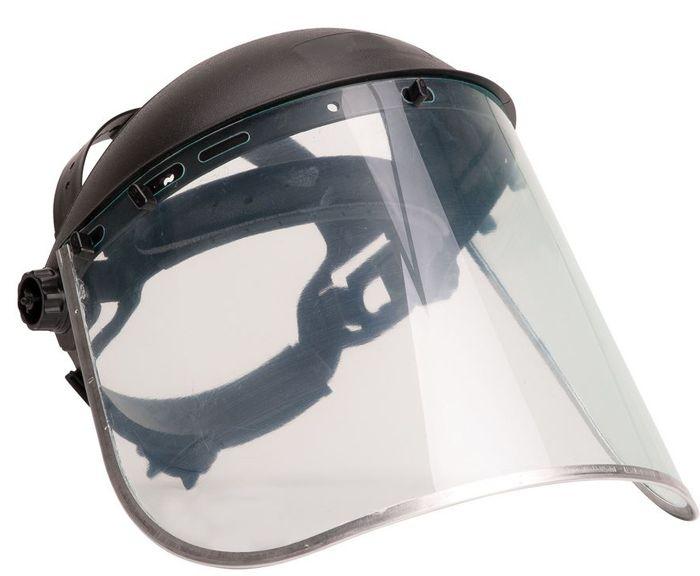 Image shows Portwest Face Shield Plus