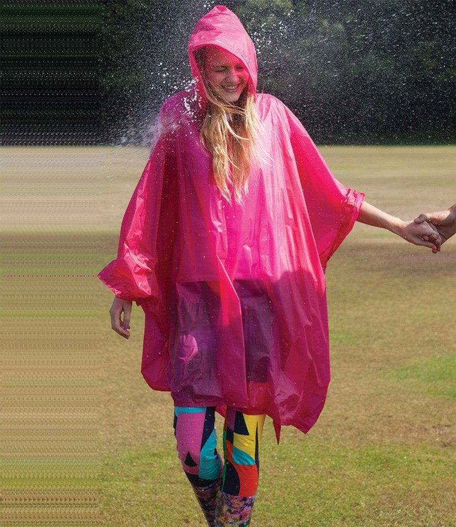 Splashmacs Rain Poncho for outdoor event