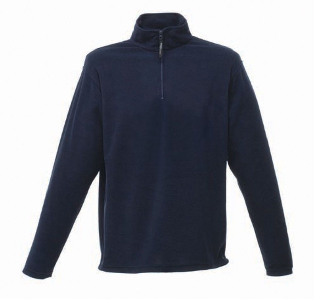 Image shows the Regatta Professional Micro Zip Neck Fleece