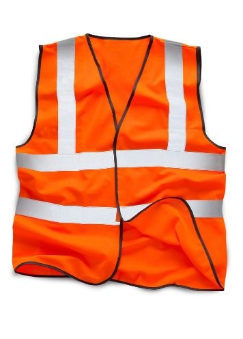 Image shows the Xamax hi-vis vest which can be worn as part of the workplace uniform
