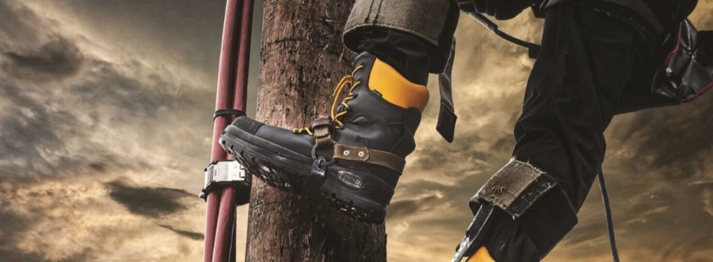 Image of High Quality Safety Boots In Use