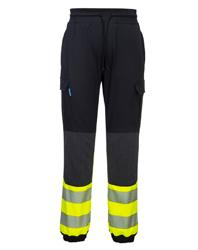 KX3 Hi Vis Flexi-Trouser in Black & Yellow
