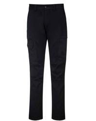 KX3 Slim-Fit Cargo Pants in BLACK