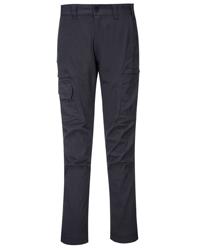 KX3 Slim-Fit Cargo Pants in METAL GREY