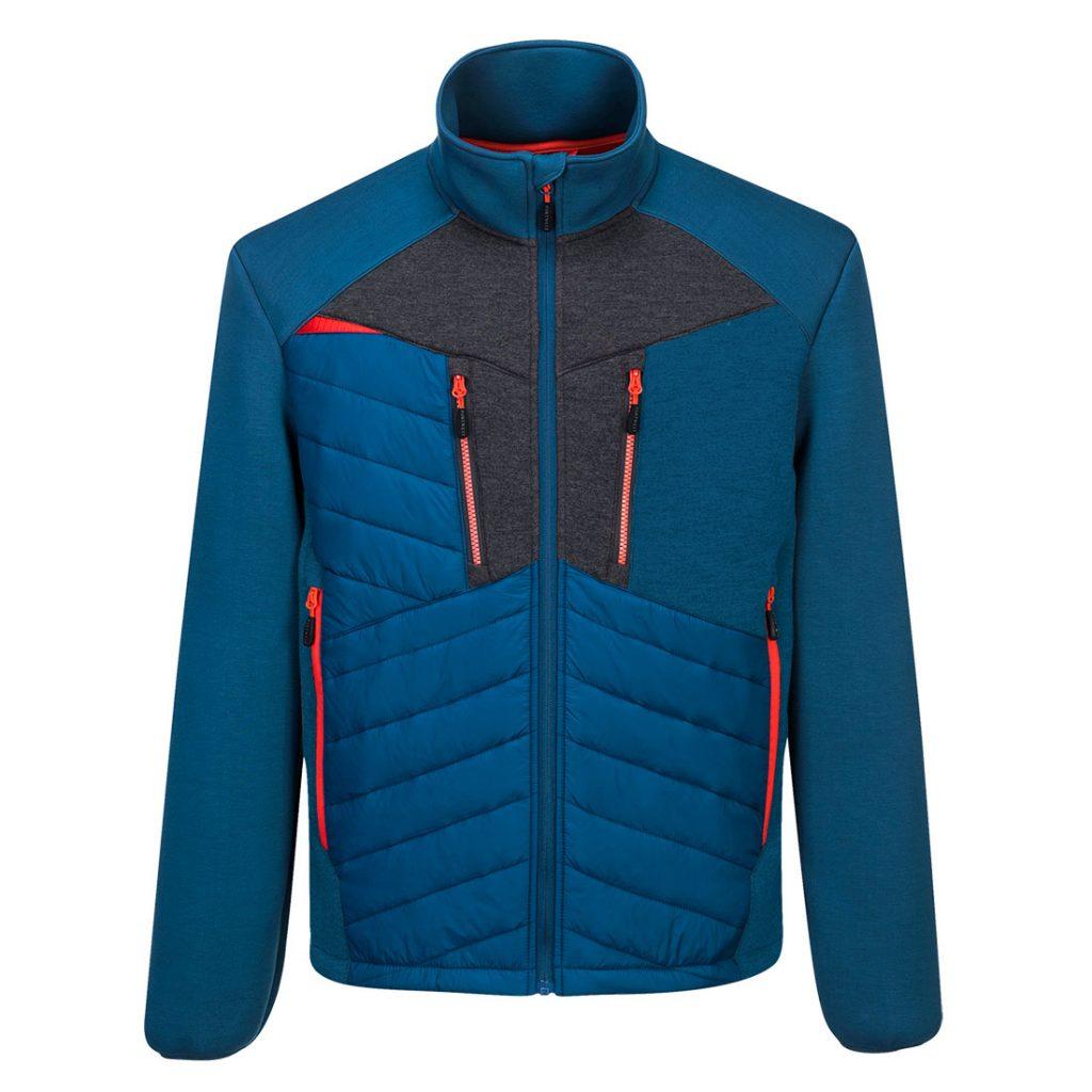 Baffle Jacket in Metro Blue