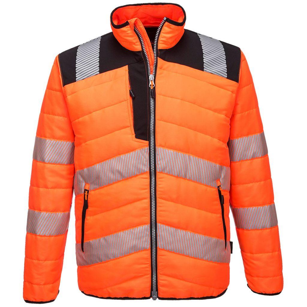 PW3 Baffle Jacket - Orange