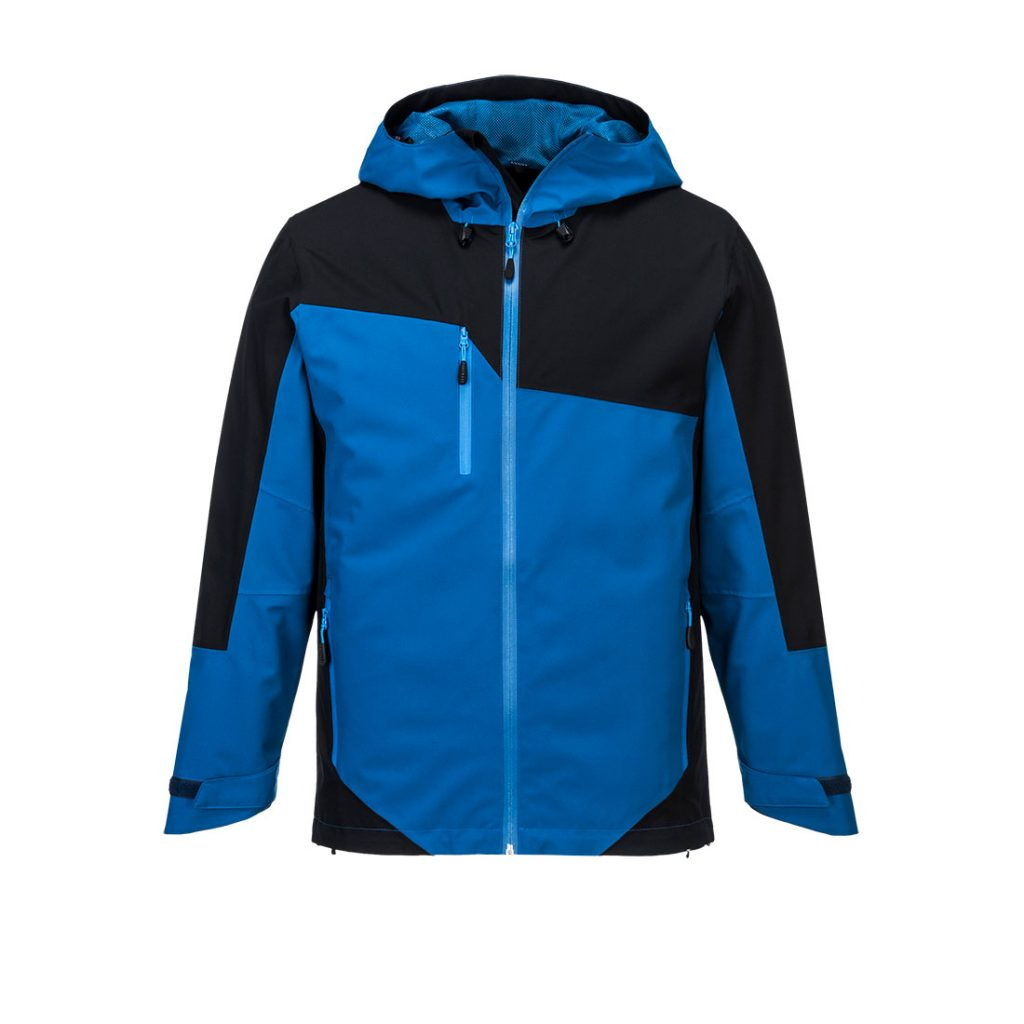 S602 Two-Tone Jacket Blue and Black