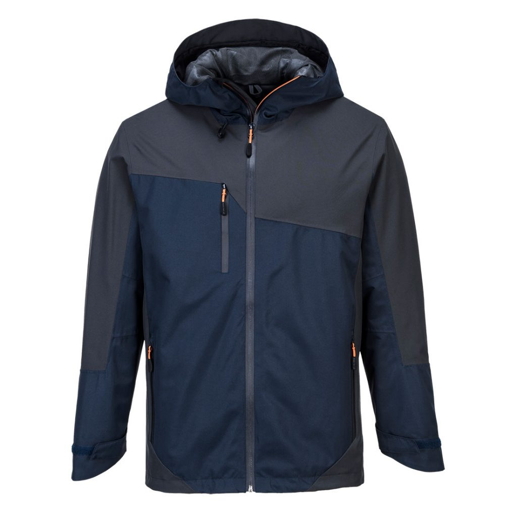 S602 Two-Tone Jacket Grey and Navy