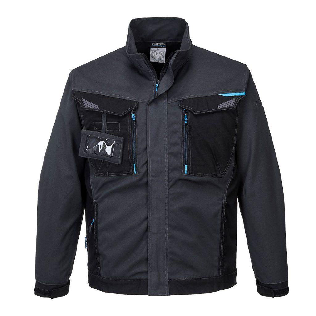 T703 Work Jacket Grey