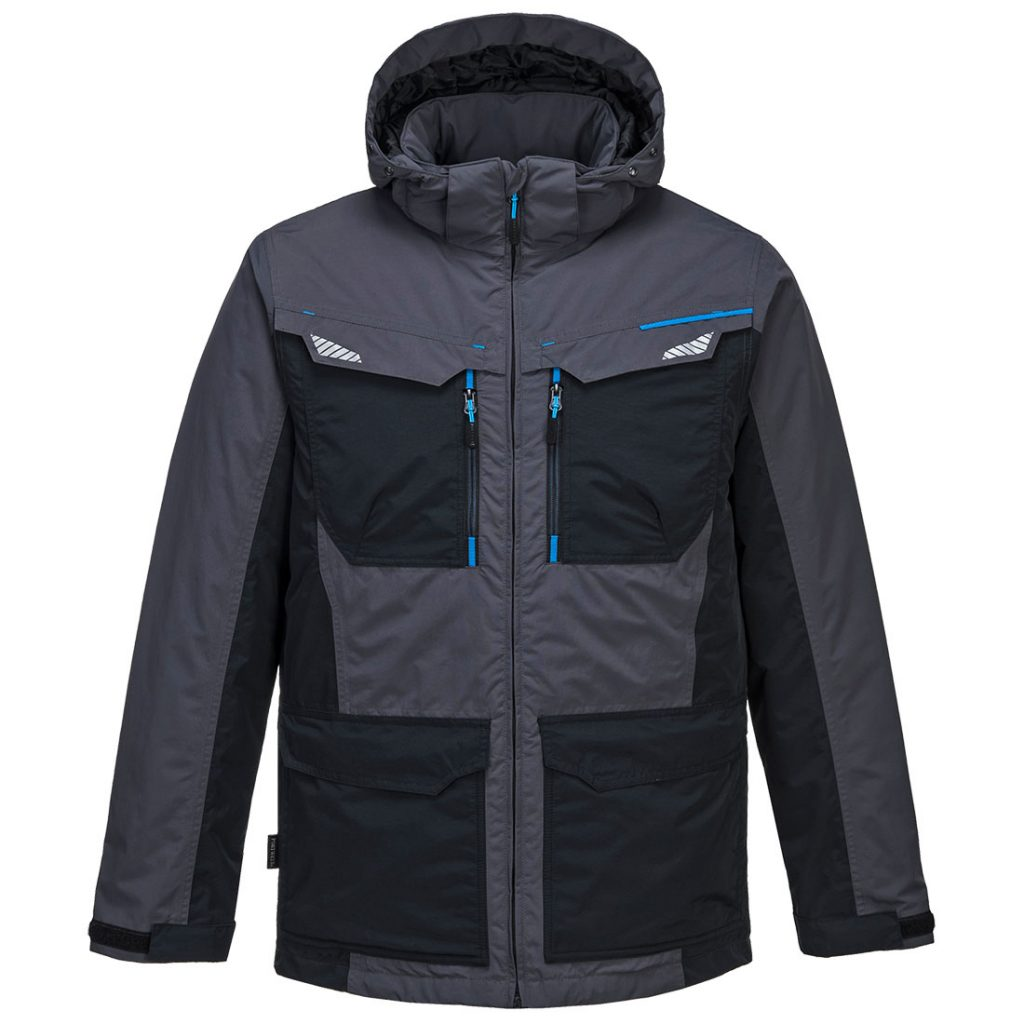 T740 Winter Work Jacket Grey