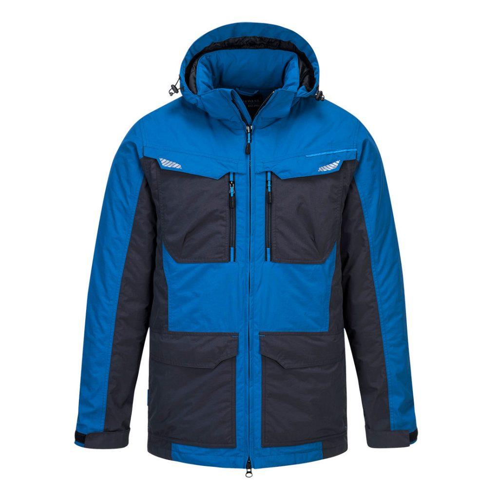 T740 Winter Work Jacket Blu