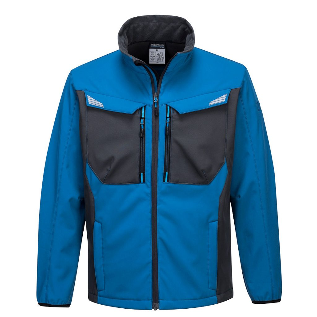 T750 Softshell Jacket Blue