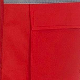 Red fluorescent fabric (Railway spec)